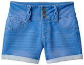 Girls 7-16 & Plus Size SO® Braided Belt Loop High-Waist Jean Shorts