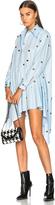 Marques Almeida Marques ' Almeida Studded Asymmetric Shirt Dress