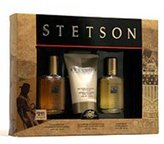 Stetson Cologne by Coty for Men. 3 Pc. Gift Set.