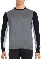Michael Kors Colorblocked Crewneck Sweater