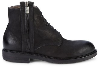 Jo Ghost Shearling-Lined Leather Boots