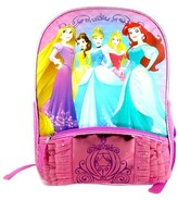Disney 16 Princess Light-Up Kids Backpack - Diva Pink