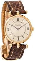 Van Cleef & Arpels La Collection 18K Watch