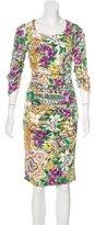 Dolce & Gabbana Majolica Print Sheath Dress
