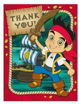 Hallmark Jake And The Never Land Pirates Thank You Notes (8-pack)