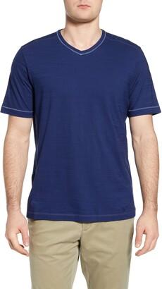 Tommy Bahama Wave Tropic V-Neck Pima Cotton T-Shirt