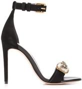 Alexander McQueen 110mm crystal-embellished sandals