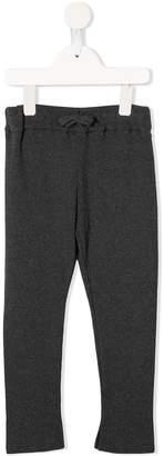 Fith ribbed knit drawstring leggings