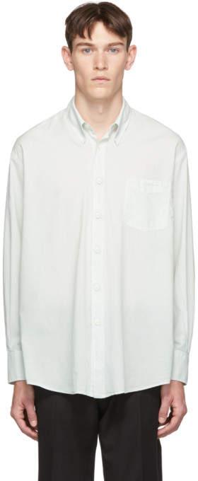Our Legacy Blue Less Borrowed Shirt