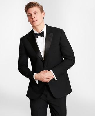 Brooks Brothers BrooksGate Milano-Fit Wool Tuxedo Jacket