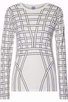 Herve Leger Printed Stretch-Jersey Top