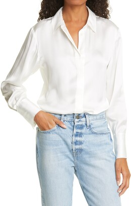Frame Perfect Washable Silk Shirt