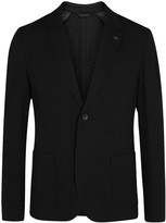 Hugo Agalto Black Jersey Jacket