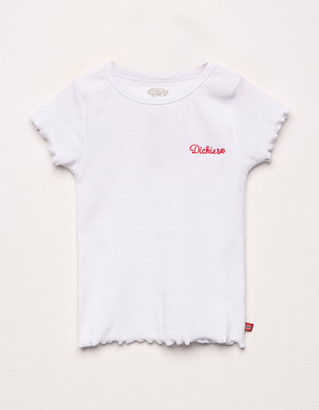 Dickies Embroidered Girls T-Shirt