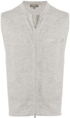 N.Peal fine gauge zipped waistcoat