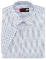 Jf J.Ferrar Stretch Slim Fit Short Sleeve Dress Shirt