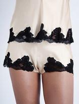 Nk Imode Morgan stretch-lace and silk-satin pyjama shorts