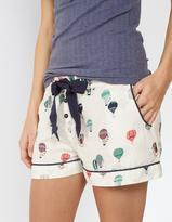 Fat Face Balloon Print Pyjama Shorts