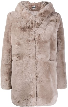Apparis Maria faux-fur hooded coat