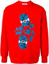 MSGM skateboard print sweatshirt