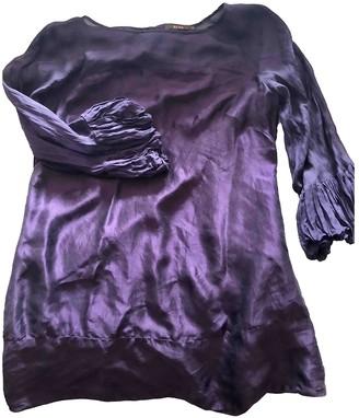 Reiss Purple Silk Top for Women