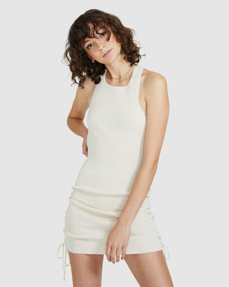 Don't Ask Amanda Aby Ribbed Bodycon Dress