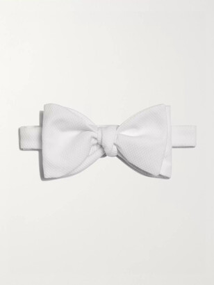Turnbull & Asser Pre-Tied Cotton-Pique Bow Tie