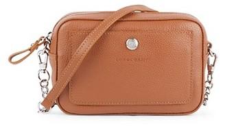 Longchamp Convertible Leather Crossbody Belt Bag