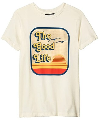 Tiny Whales The Good Life T-Shirt (Toddler/Little Kids/Big Kids) (Natural) Boy's Clothing