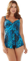 Chico's Off The Scales Tankini Swimsuit Top