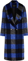 PAPER London Rainbow Plaid Coat