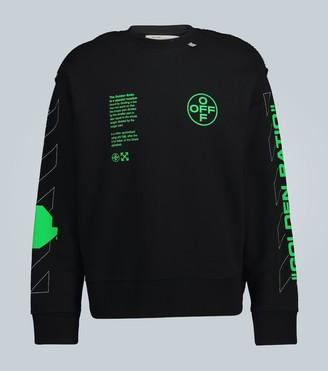 Off-White Arch Shapes Incompiuto sweatshirt