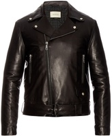 Gucci Classic leather biker jacket