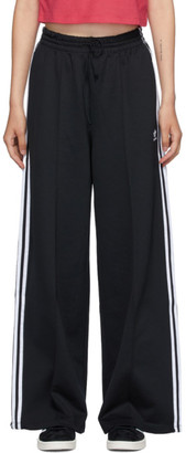 adidas Black Primeblue Wide-leg Lounge Pants