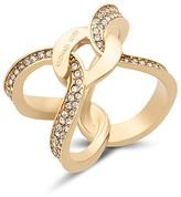 Michael Kors Pavé Link Logo Ring