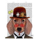 Asstd National Brand Distinguished dog Canvas Wall Art