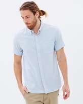 Quiksilver Mens Waterfalls Short Sleeve Shirt