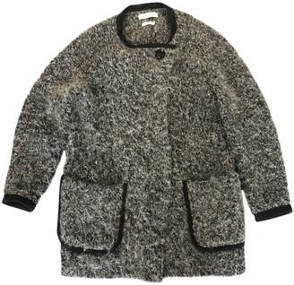 Etoile Isabel Marant Grey Wool Coat for Women