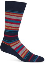 Hot Sox Sketchy Stripe Socks