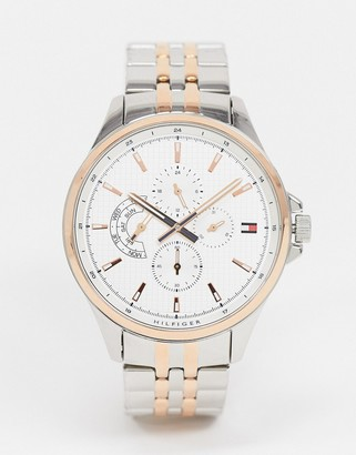 Tommy Hilfiger Shawn mixed metal watch 1791617