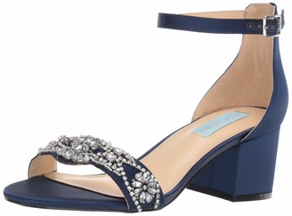 Betsey Johnson Blue Women's SB-Mel Heeled Sandal