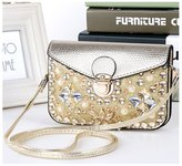 e-youth Luxury Matte PU Leather Mini Crossbody Single Shoulder Bag Cellphone Pouch