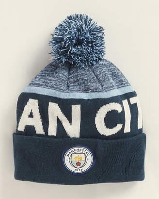 Manchester City Pom Knit Beanie