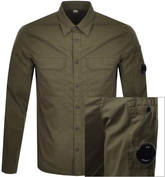 C.P. Company Long Sleeved Shirt Green