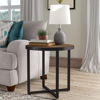 Three Posts Dillwyn Cross Legs End Table