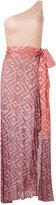 Cecilia Prado knit maxi dress - women - Acrylic/Lurex/Viscose - M