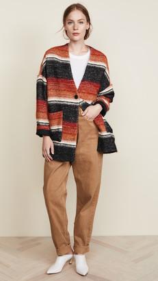Iro . Jeans Blanket Coat