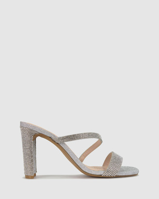 betts Women's Strappy sandals - Skyler Skinny Block Heel Mules - Size One Size, 5 at The Iconic