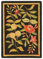 Safavieh Chelsea Collection HK210B Hand-Hooked Wool Area Rug, 1 feet 8 inches by 2 feet 6 inches
