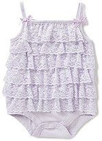 Starting Out Baby Girls Newborn-9 Months Lace Tier Bodysuit